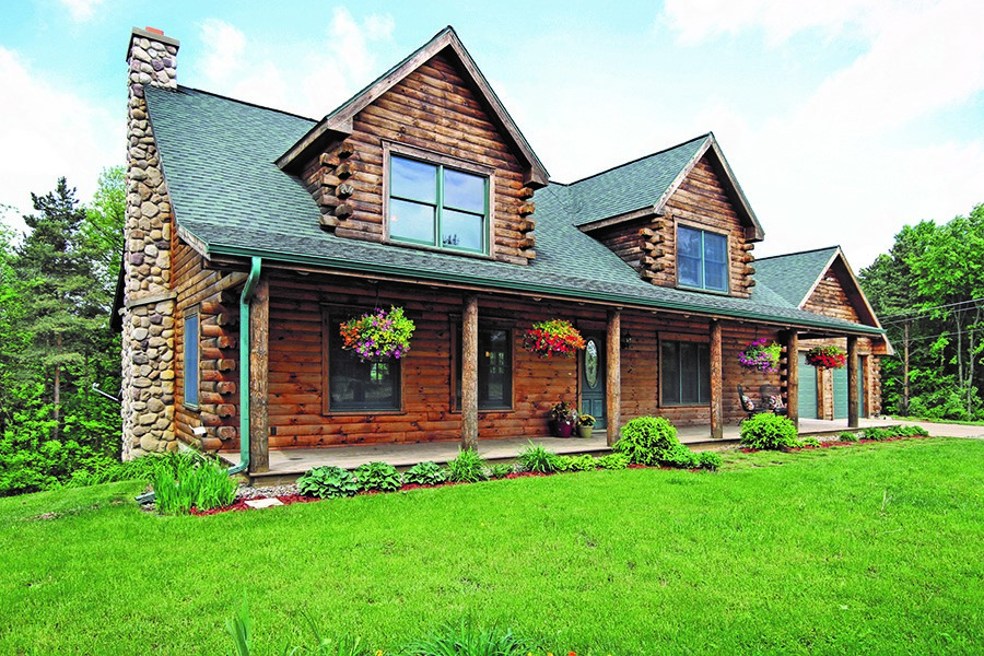 South Haven Log Homes for Sale